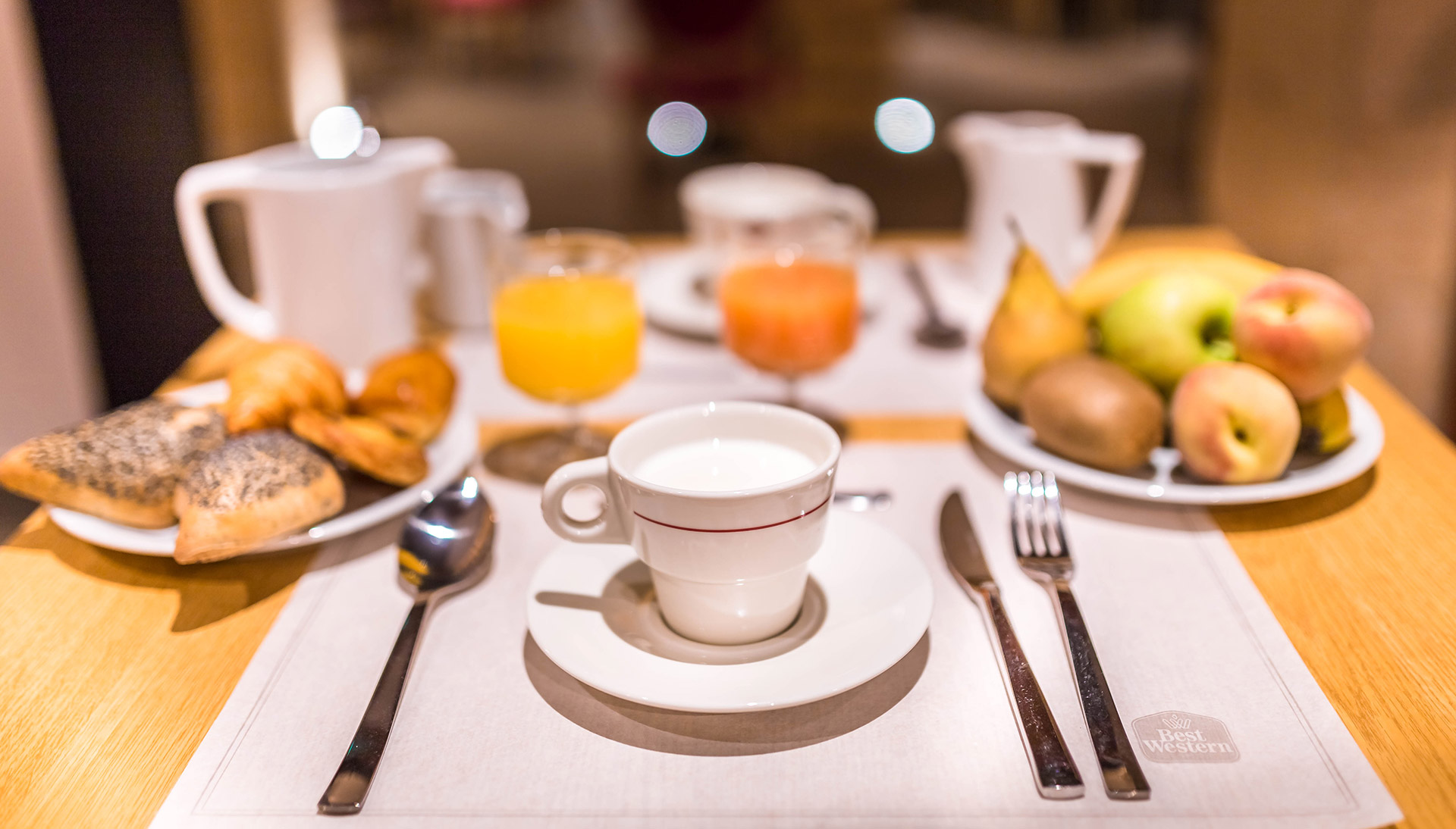 Best Western Premier Marais Grands Boulevards breakfast buffet